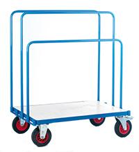 Fort Platform Truck. Adjustable Board Trolley  Galv D Deck  1200 X 800