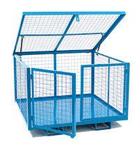 Security Cage With Lift Up Lid - 1260W