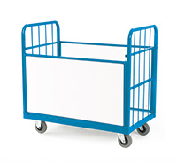 3-Way Convertible Trolley - Nylon Wheels