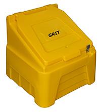 Heavy Duty Grit Bins - Grit Bins c/w Salt - 200 Litres