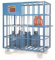 Mobile Gas Cylinder Carrier - Galvanised