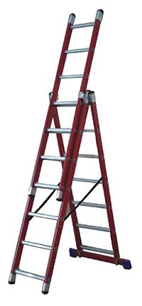Glass Fibre Ladder  No of Rungs  7
