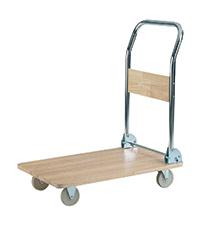 Wooden Deck Trolley
