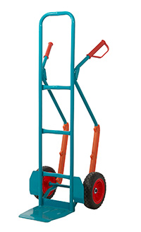 Apollo Steel Sack Truck - Reach Compliant Wheels -  Skids