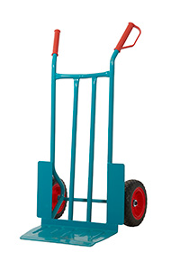 Apollo Steel Sack Truck - Reach Compliant Wheels -  Wheel Guards
