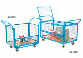 Wire Mesh Truck - 4 Mesh Sides - 1260L