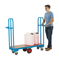 Narrow Aisle Cash and Carry Trolley - 1220mm Long