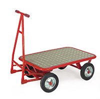 Turntable Truck - Expanded Metal - 200Mm Cushion