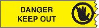 76mmx305m Danger Keep Out