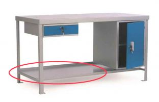 All-Purpose Heavy Duty Workbenches - Optional Shelf to Suit ECO189S