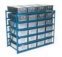 Steel Bins and racks - Rack Units