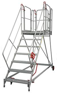 Fort Easy Slope Platform - 7 Step - Certified to BS EN 131 Professional