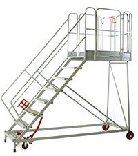 Fort Easy Slope Platform - 8 Step - Certified to BS EN 131 Professional