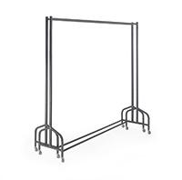 Nesting Frame Garment Rail - 1220L