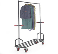Heavy Duty Garment Rail - 1200L