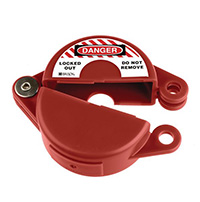Gate Valve Lockout - 25 to 63.5mm - Red
