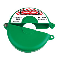 Gate Valve Lockout - 254 to 330mm - Green
