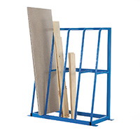 Vertical Storage Rack - 4 Section