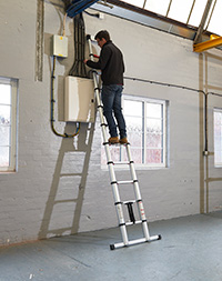 Telescopic Ladders  Number of Rungs  13