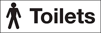 100x300mm Male toilets - rigid