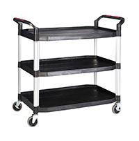 Proplaz  Shelf Trolley - 3 Shelf 990L