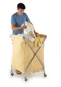 Laundry Trolley - Folding X Type