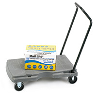 Plastic Platform Trolley with a 3 position handle