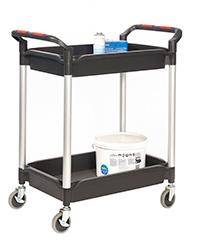 Proplaz  Shelf Trolley with Deep Trays - 2 Shelf