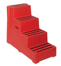 Plastic Handy Steps - 4 Treads