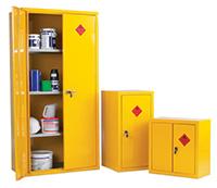 Heavy Duty Hazardous Substance Storage Cupboards - 915W X 483D X 1830H