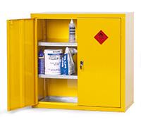 Heavy Duty Hazardous Substance Storage Cupboards - 915W X 483D X 915H