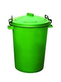 85 Litre Clip Lid Bin - Green