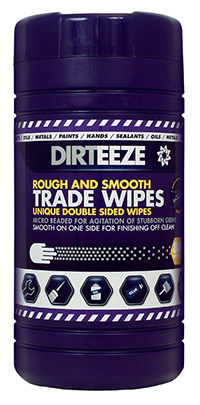 Dirteeze Rough and Smooth Wipes