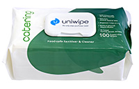 Uniwipe Catering Pack of 100 Wipes
