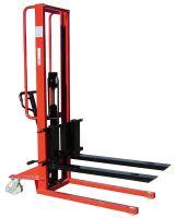 LiftMate 500kg Manual Pallet Stacker with Adjustable Forks