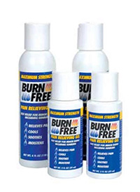 Burns Pain Relieving Gel 59 Ml Bottle