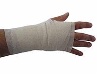 White Cohesive Bandages 5 X 4.5 M Pk 10