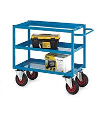 Heavy-Duty Tray Trolley - 900H  200Mm Wheels