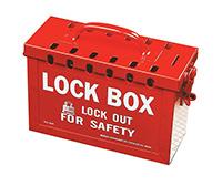 Red 13 Lock  Lock Box