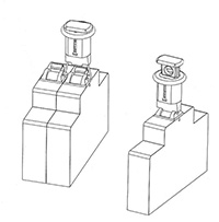Miniature Circuit Breaker Lockin - Pin in standard