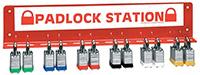 24 Padlock Station