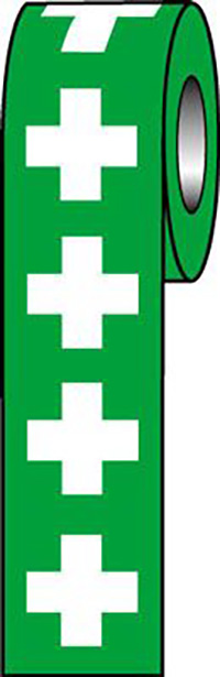 First Aid Symbols 50x50mm Self Adhesive Vinyl Safety Sign