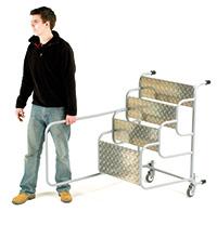 Fort Machine Steps - Optional Wheels