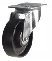 MD Top Plate Swivel Castor - 125mm - Cast Iron