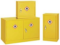 Mini Flammable Liquid Storage Cabinet - 610 x 457 x 457mm  HxWxD