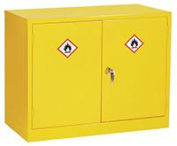 Mini Flammable Liquid Storage Cabinet - 610 x 915 x 457mm  HxWxD