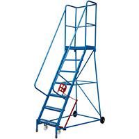 Fort Atlas Steps - 7 Step - Expanded Steel Tread