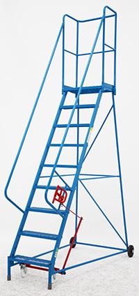 Fort Atlas Steps - 9 Step - Expanded Steel Tread