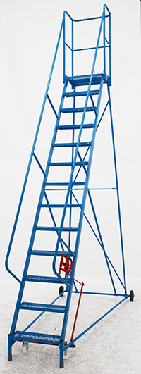 Fort Atlas Steps - 13 Step - Expanded Steel Tread