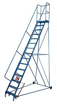 Fort Atlas Steps - 15 Step - Expanded Steel Tread